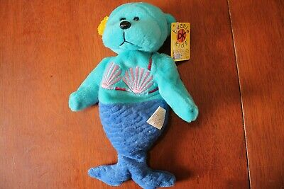 Beanie Kids - Shelly the Mermaid Bear