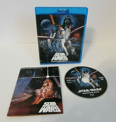 Star Wars Ep. 4 IV A New Hope Original Theatrical Despecialized Edition Blu-Ray