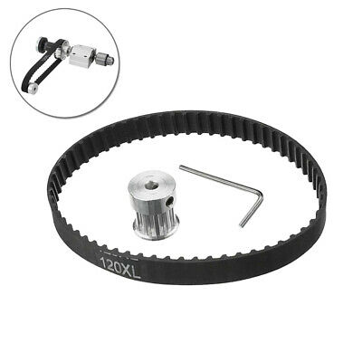 No Power Woodworking Cutting Grinding Spindle Trimming Belt Small Lathe Acce