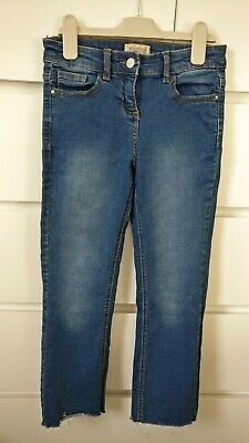 NEXT___jeans denim trousers girl age 11 yrs ex con worn once