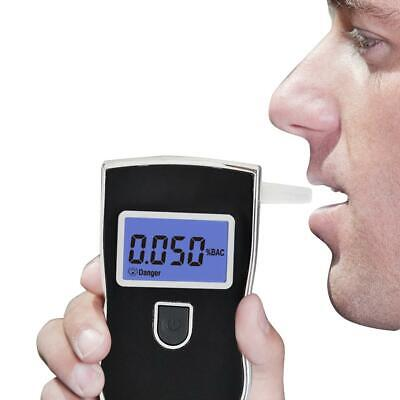 Police Digital LCD Breathalyzer Breath Test Alcohol Tester Analyzer Detector