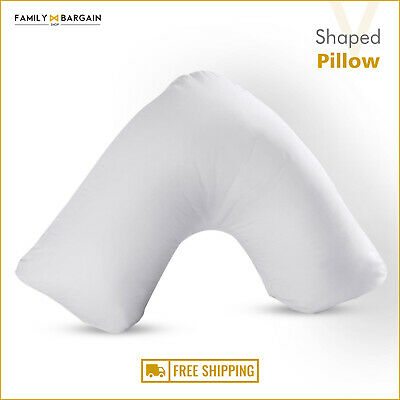 V Shaped Pillow Extra Filled Pregnancy Maternity Nursing Orthopedic Baby Support