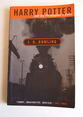 Harry Potter and the Philosopher's Stone J.K. Rowling 1998 Adult Cover 1st/4th