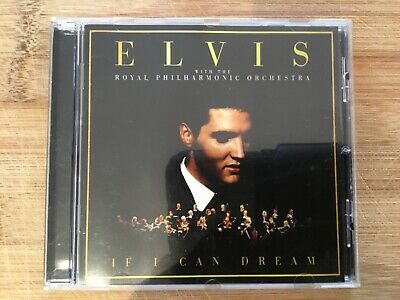 Elvis with the Royal philharmonic Orchestra.if I can dream. Very good condition