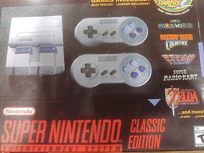 Super Nintendo Entertainment System: Super NES Classic Edition 21 GAMES HMI