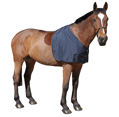 Snuggy Hoods Silky Bib Shoulder Guard for Horse or Pony M