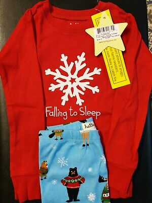 Hatley Falling To Sleep X-Mas Girls Christmas Pyjamas 100% Cotton 2y pj's BNWT