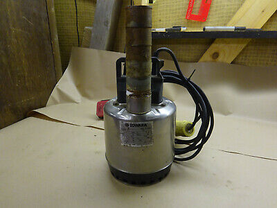 110 Volt Lowara Submersible Pump With Float Switch