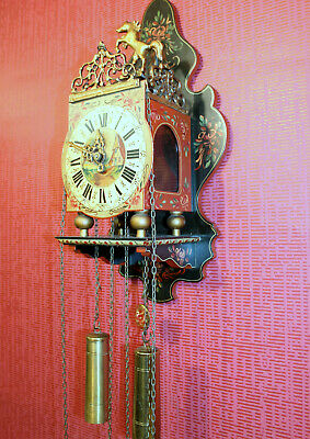 Old Wall Clock Dutch  Stultyen Clock wall Clock Chair Clock particular piece
