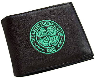 Celtic F.C. Embroidered Wallet. Brand New. Official Club Merchandise