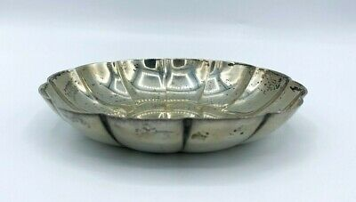 Authentic Tiffany & Co Sterling Silver 22951 M Scalloped Candy Trinket Dish! 80