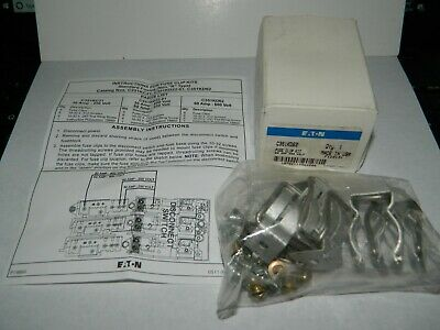NEW Eaton C351KD62 Fuse Accy, Fuse Clip Kit, 600V, 60A with Instructions