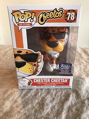 Funko Pop Ad Icon Chester Cheetah  Cheetos Hollywood Store /Hq Exclusive