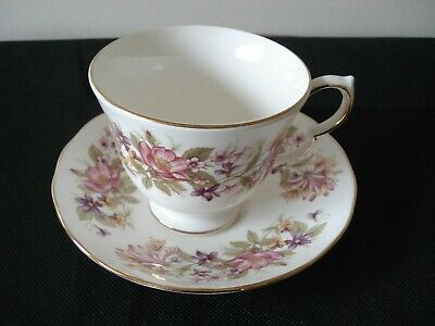 Colclough Wayside Cup And Saucer  Ex Con