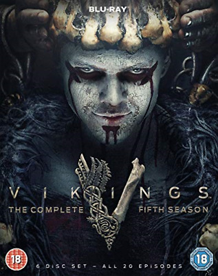 Vikings The Complete Fifth Season DVD NEW