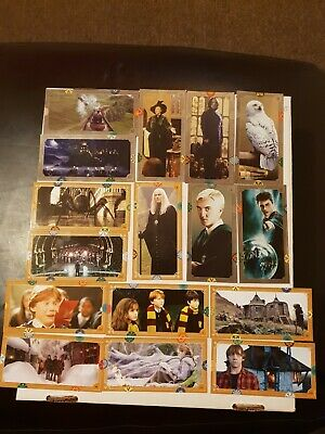 Harry Potter Contact Trading Cards Lot Mint New out of Packs.
