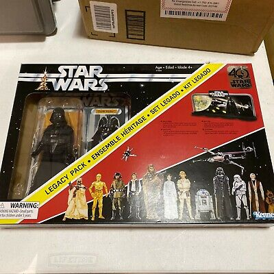 Disney Star Wars The Black Series 40th Anniversary Legacy Pack 6 in. Darth Vader