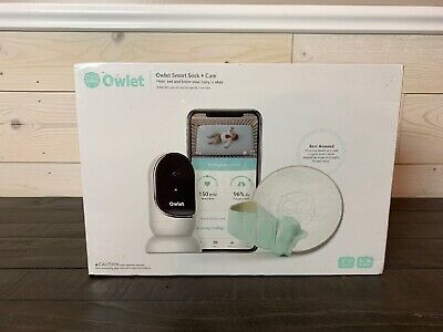 Owlet Smart Sock Cam Heart Rate Oxygen Complete Baby Monitor System NEW SEALED A