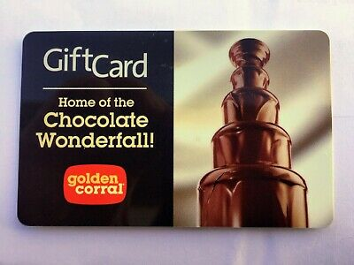 *2* Golden Corral Gift Cards $30 & $40 - Physical cards, no exp, Fast Shipping!
