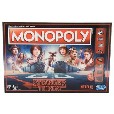 Monopoly - NETFLIX Stranger Things Edition Board Game By Hasbro Brand New