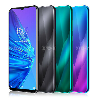 Cheap Unlocked 6.6 inch Android 9.0 Smartphone Cell Phone Dual SIM Quad Core GSM
