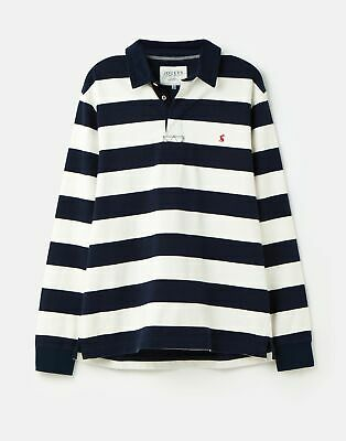 Joules  210326 Striped Rugby in FRENCH NAVY CREAM STRIPE