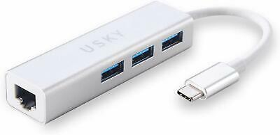 Usb-C(Type C 3.1) To Ethernet + Adapter Rj45 Gigabit Super Fast Network Speeds