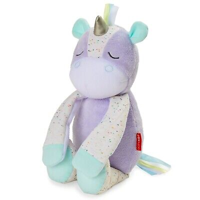 NEW Skip Hop -  Cry Activated Soother Unicorn - in Grey -  Toys -  Toys