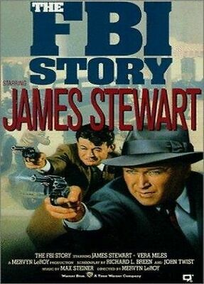 the fbi story 1959 james stewart dvd