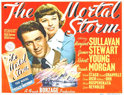 the mortal storm 1940 wartime drama james stewart dvd