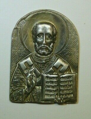 Nikolai the Miracle Worker 84 Silver Imperial Russia