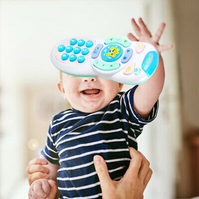 Baby toys music mobile phone remote control educational toys learning toy W8H