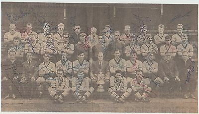 Wolverhampton Wanderers Fa Cup Winners 1960 Orig Autograph Team Group 31 X Sigs