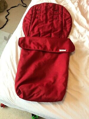 Mamas And Papas Red Cosytoes Footmuff