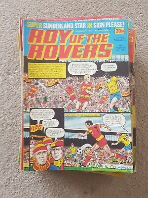 ROY OF THE ROVERS COMICS - 1984 - 39 issues