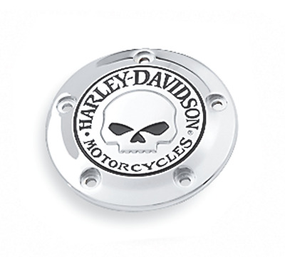 Harley Davidson Willie G Chrome Timer Cover 32975-04A