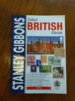Stanley Gibbons Collect British Stamps 2019 Catalogue NEW