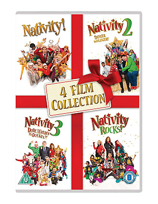 Nativity 4 Film Collection [DVD] [2018]
