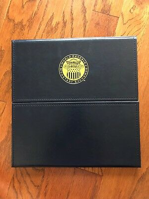 World Reserve Monetary Exchange U.S. Presidential Dollar Coin Book Holds 40 coin