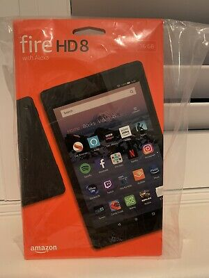 Amazon Kindle Fire HD 8 16GB, Wi-Fi, 8in - Black Brand New In Box Never Opened