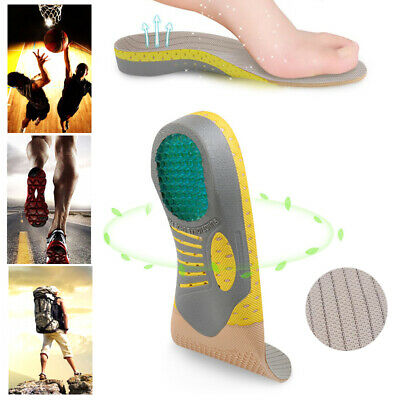 Orthotic Shoe Insoles Inserts Flat Feet High Arch Support Plantar Fasciitis US