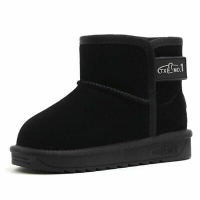 High Quality  Warm Leather Boots Girls Boots Boys Snow Boots Kids Winter Shoes