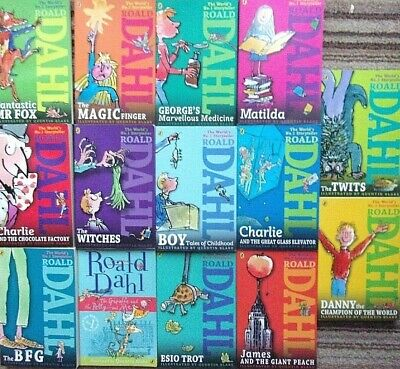 Roald Dahl - Collection of Books