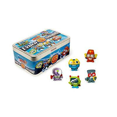 SuperZings CyberSquad Set of 5 Figurines Miniatures in the Container Toys Boys