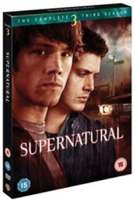 Jared Padalecki, Jensen Ackles-Supernatural: The Complete Third Season DVD NEW