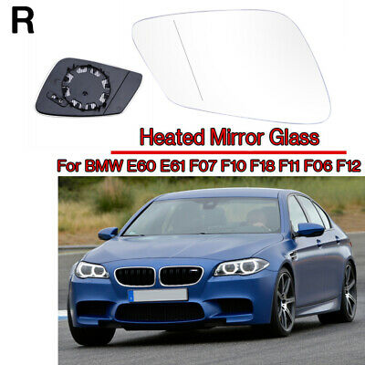 Right Driver side Wide Angle Wing mirror glass for BMW Z4 2002-2008 Heated