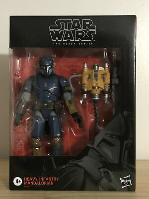 """Star Wars - The Black Series Heavy Infantry Mandalorian Deluxe Action Figure 6"""""""