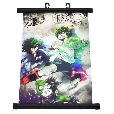 My Hero Academia Printed Wall Poster Fans Gift Fashion Scroll Poster Decoraction