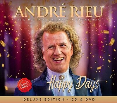 Andre' Rieu  - Happy Days (deluxe Edt. Cd+dvd) - 2 Cd