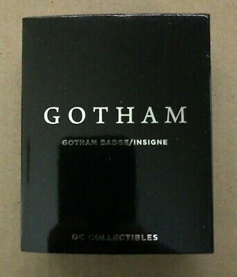 DC Collectibles Gotham Police Badge From TV Show Never Displayed! MINT In Box!